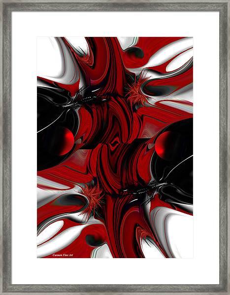 Perceptive Creation Framed Print