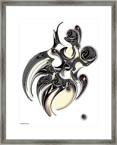 Perceptive Formation Framed Print