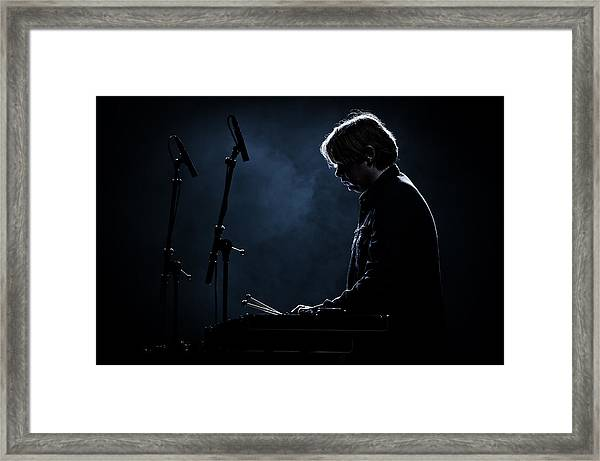 Percussion Framed Print by Karl-axel Lindbergh