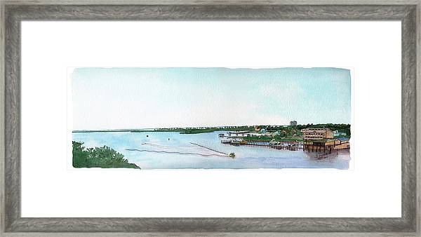 Perdido Key Bay Framed Print