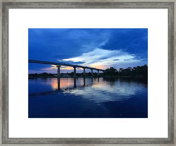Perdido Key Bridge Framed Print