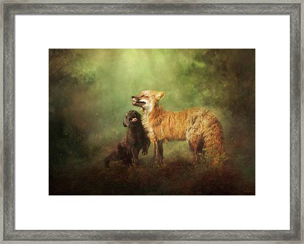 Perfect Bliss Framed Print