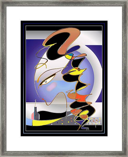Framed Print featuring the painting Perfume by Larry Talley
