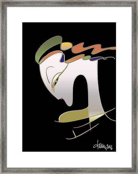 Framed Print featuring the painting Malaise by Larry Talley