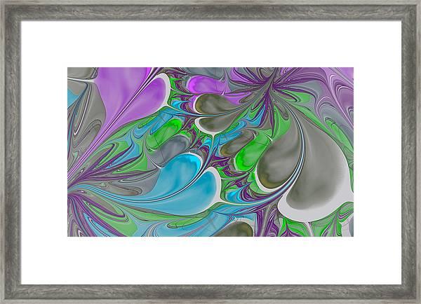 Petal Garden Framed Print