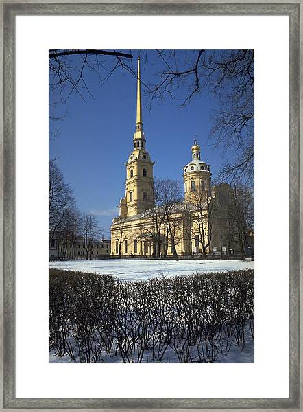 Peter And Paul Cathedral Framed Print