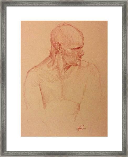 Peter Framed Print