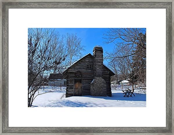 Peter Navarre Cabin I Framed Print