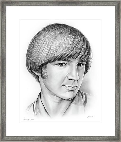 Peter Tork Framed Print