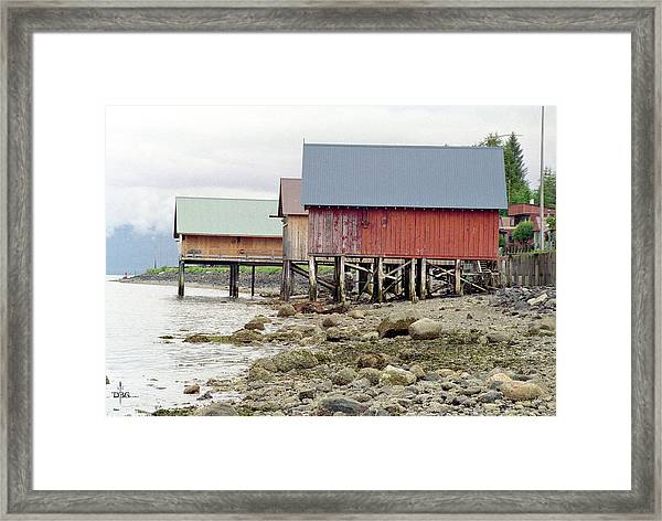 Petersburg Coastal Framed Print