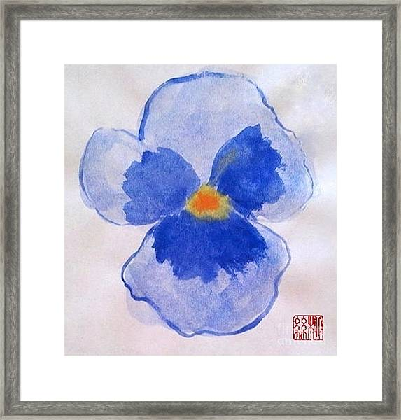 Petunia Framed Print