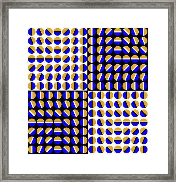 Phases Framed Print