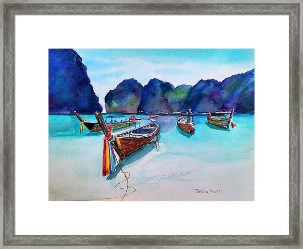 Phi Phi Island Framed Print