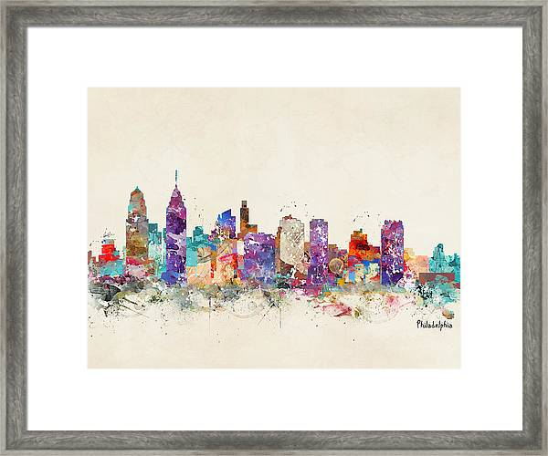 Philadelphia Pennsylvania  Framed Print