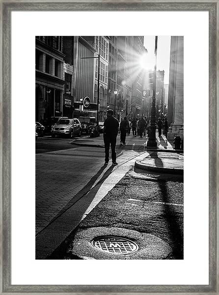 Philadelphia Street Photography - 0943 Framed Print