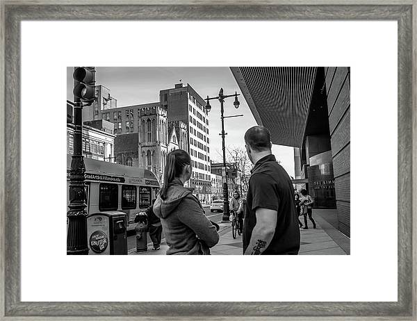 Philadelphia Street Photography - Dsc00248 Framed Print