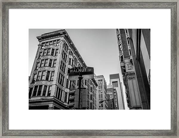 Philadelphia Urban Landscape - 0980 Framed Print