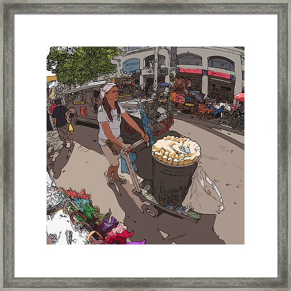 Philippines 1265 Mais Framed Print