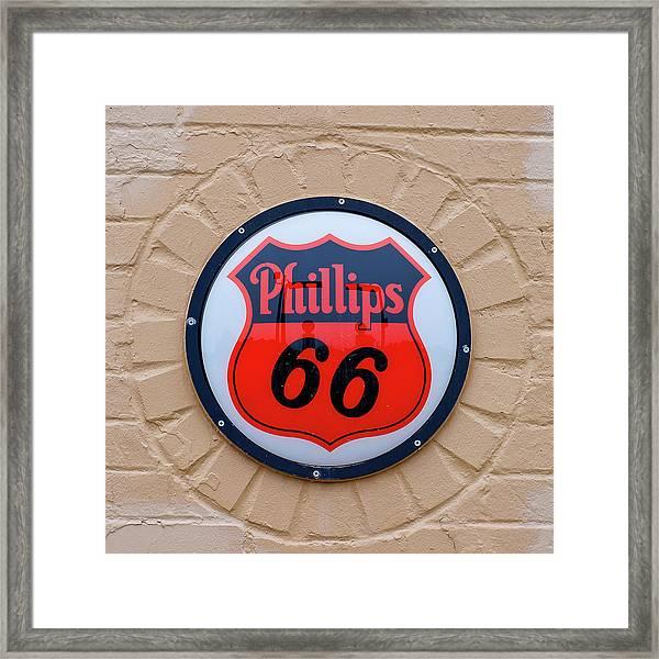 Phillips 66 Framed Print