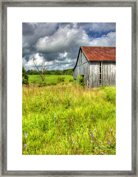 Phillip's Barn Framed Print