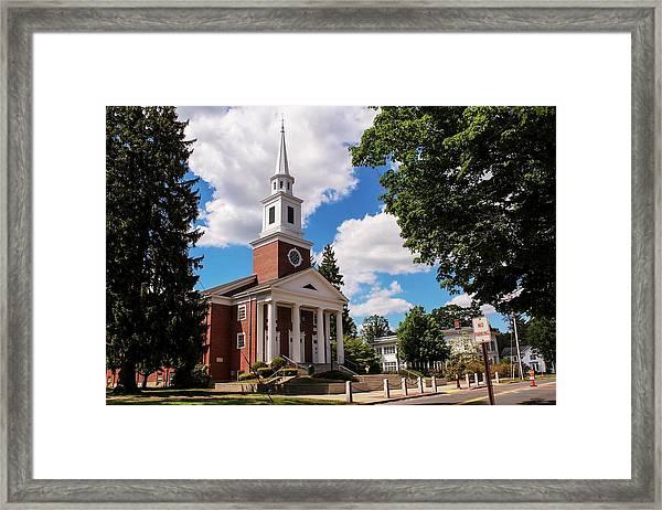 Phillips Stevens Chapel, Williston Northampton School, Easthampton, Ma Framed Print