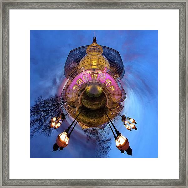Phipps Conservatory Little Planet  Framed Print