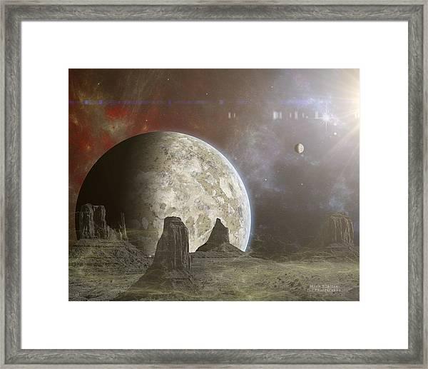 Phobos Framed Print