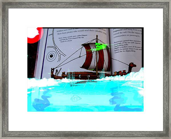 Phoenician Night Voyagers  Framed Print