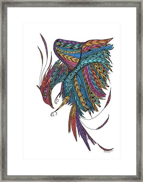 Phoenix Landing Framed Print
