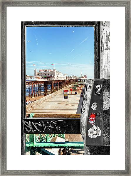 Phone Home Framed Print