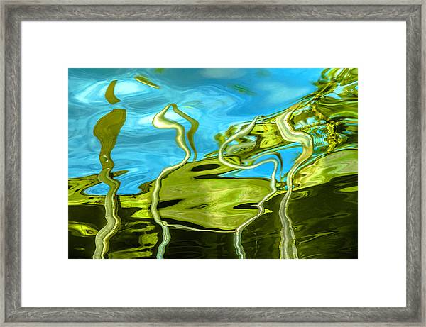 Photo Painting 3 Framed Print