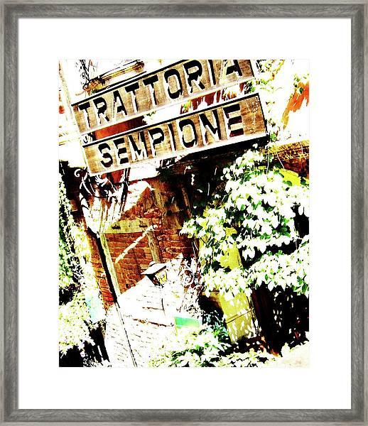 Photo8 Framed Print