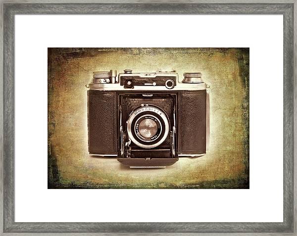 Photographer's Nostalgia Framed Print