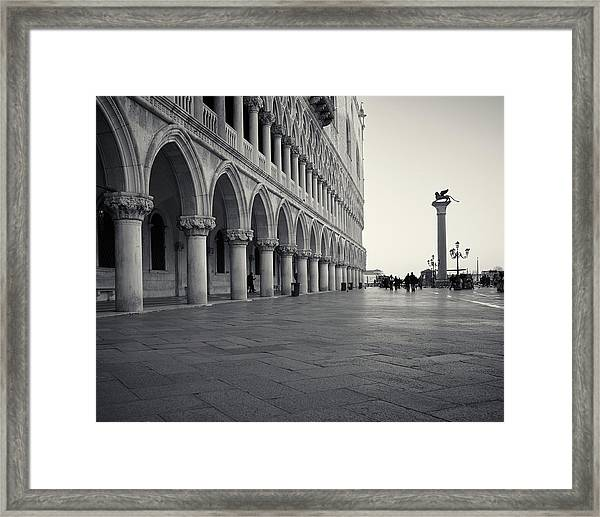 Piazza San Marco, Venice, Italy Framed Print