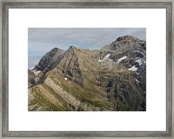 Pic De Marbore Framed Print