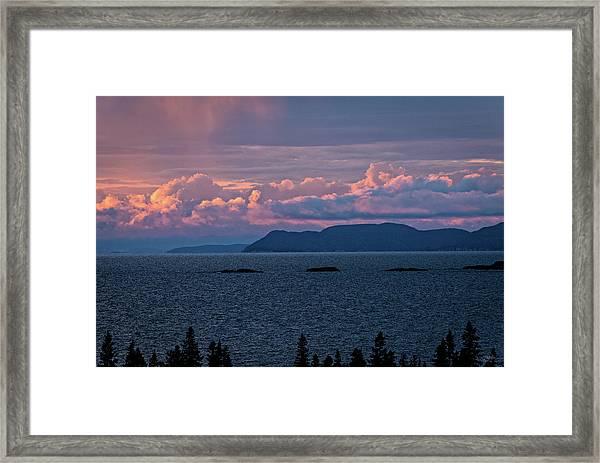 Pic Island Framed Print