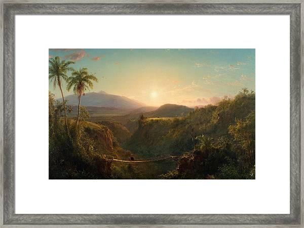 Pichincha Framed Print