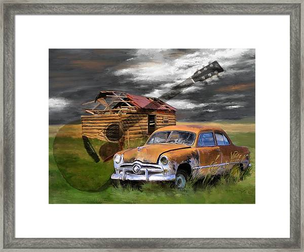 Pickin Out Yesterday Framed Print