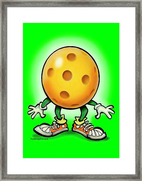 Pickleball Framed Print