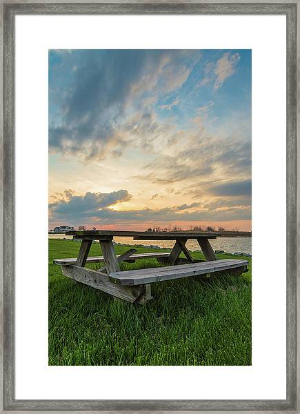 Picnic Time Framed Print