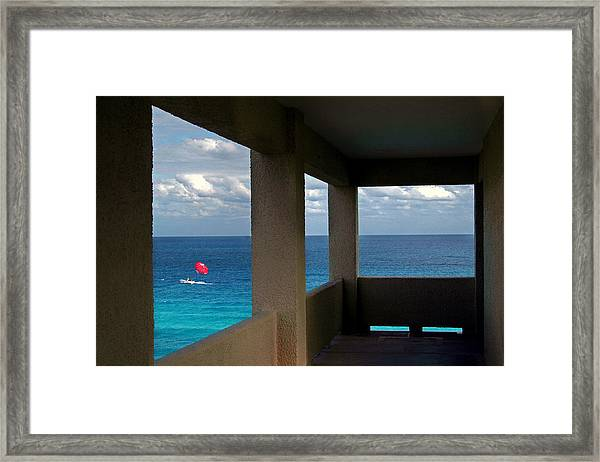 Picture Windows Framed Print