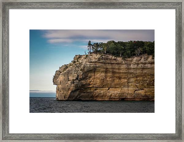 Pictured Rocks National Lakeshore Framed Print