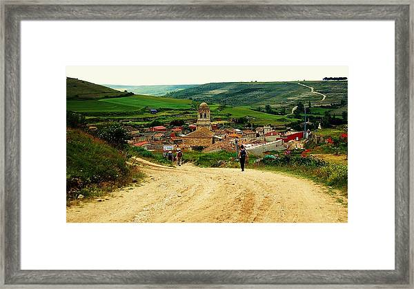Framed Print featuring the photograph Picturesque Arrival by HweeYen Ong