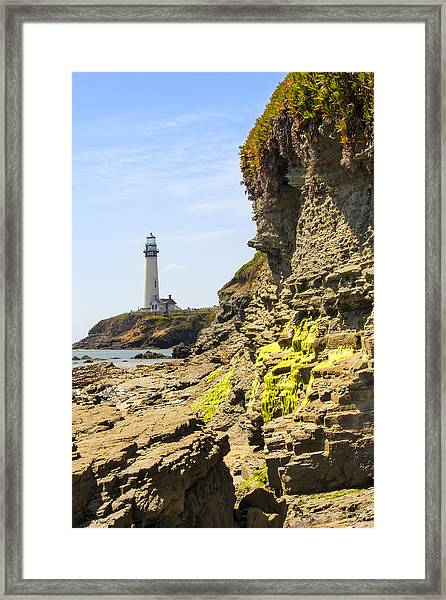 Pidgeon Point Lighthouse Framed Print