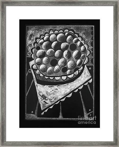 Pie Framed Print