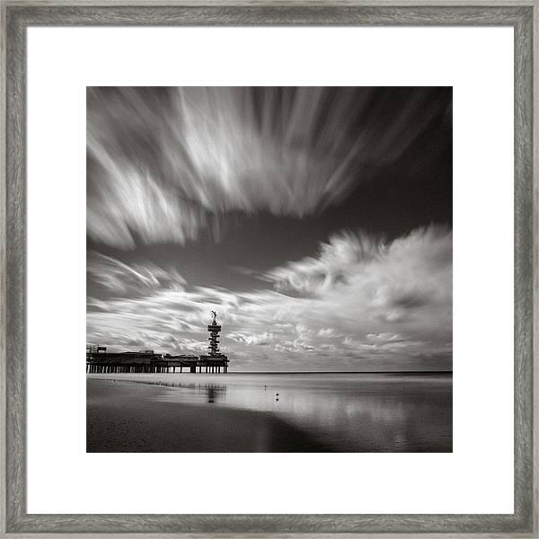 Pier End Framed Print