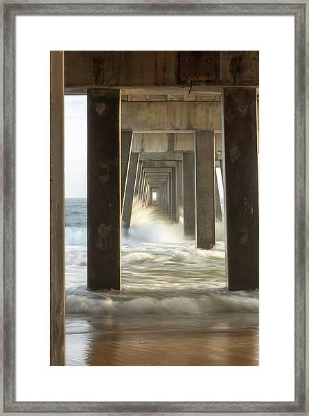 Pier Energy Framed Print