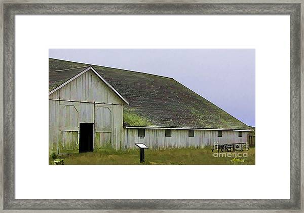 Pierce Pt. Ranch Study Framed Print