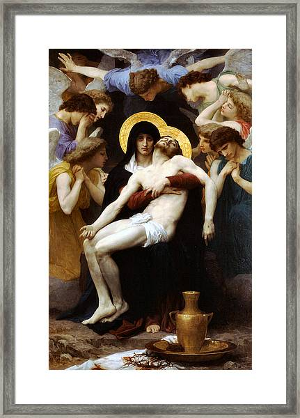 Pieta 1876 Framed Print