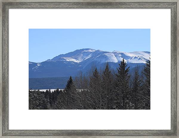 Pikes Peak Cr 511 Divide Co Framed Print